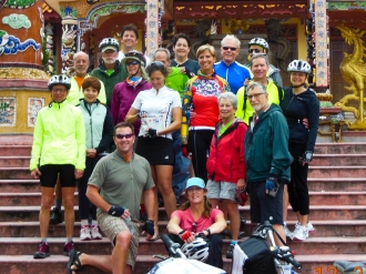 Vietnam biking group, 2012