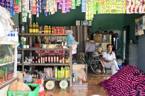 These little convenience stores are all over Vietnam.