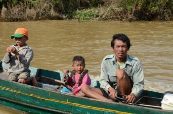 Python on the Tonle Sap